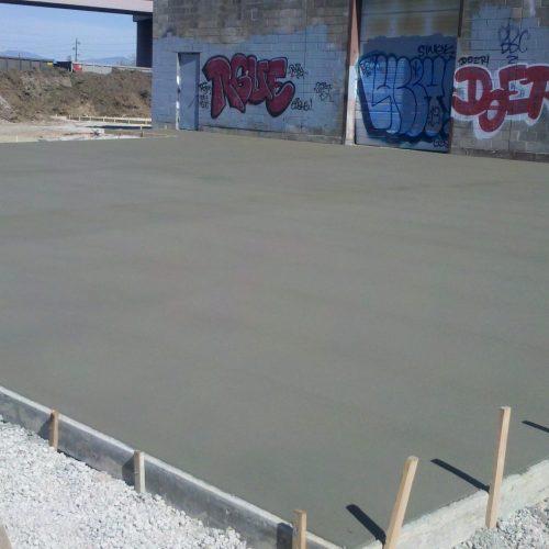 loading dock area at warehouse